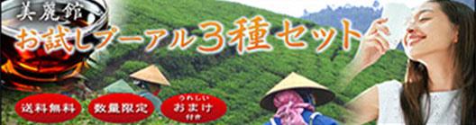 プーアル茶三種セット