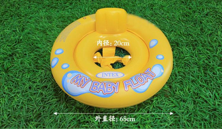 泳ぎの練習にも使える 浮き輪