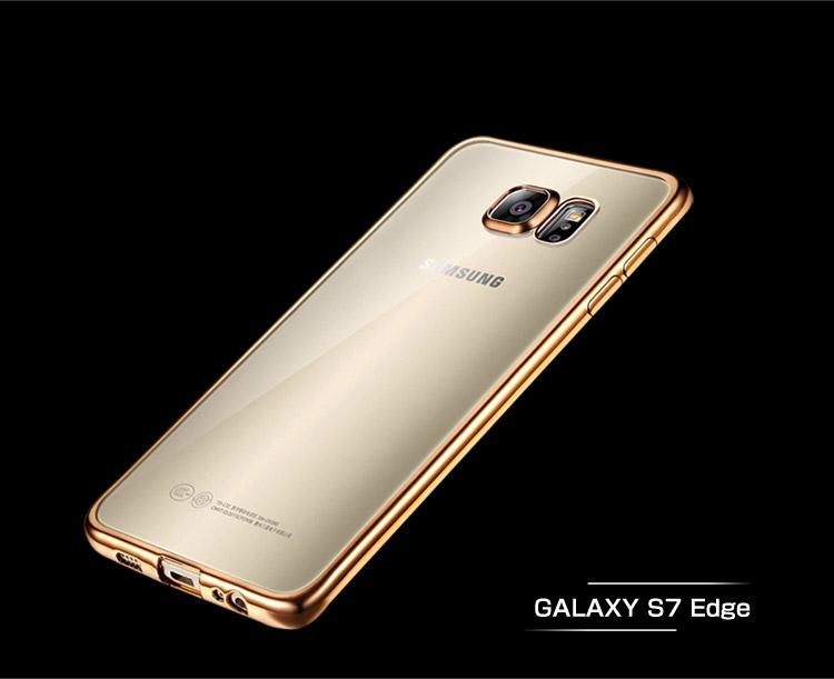 GALAXY S7 Edge クリアケース