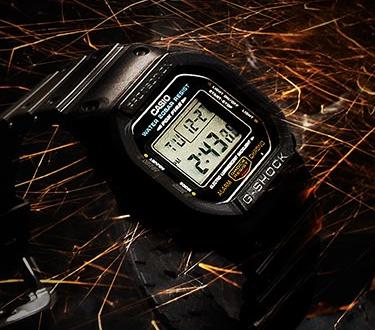 時計にタフネスという新たな概念を築き上げたG-SHOCK