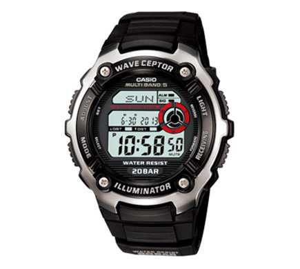CASIO waveceptor