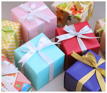 ラッピング無料!丁寧な「百貨店包み」で心温まる贈り物
