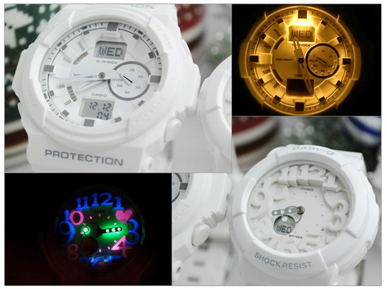 G-shock&Baby-Gペアウォッチバックライト