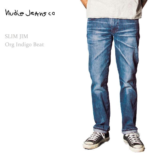 Nudie Jeans(ヌーディージーンズ) Slim Jim Organic Indigo Beat ... 7d85ef934