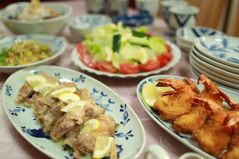青花 小判パーティー皿