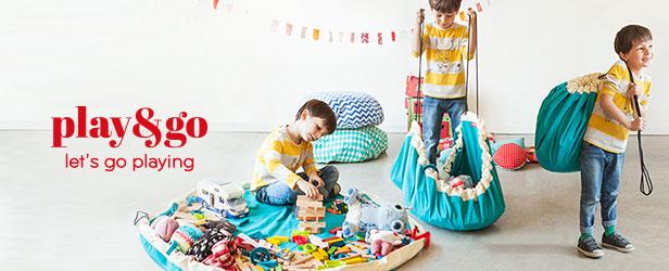 プレイアンドゴー/Play&Go (2in1 Storage Bag&Playmat) お片付けバッグ&プレイマット