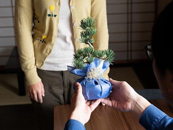 松と花 ペアギフト