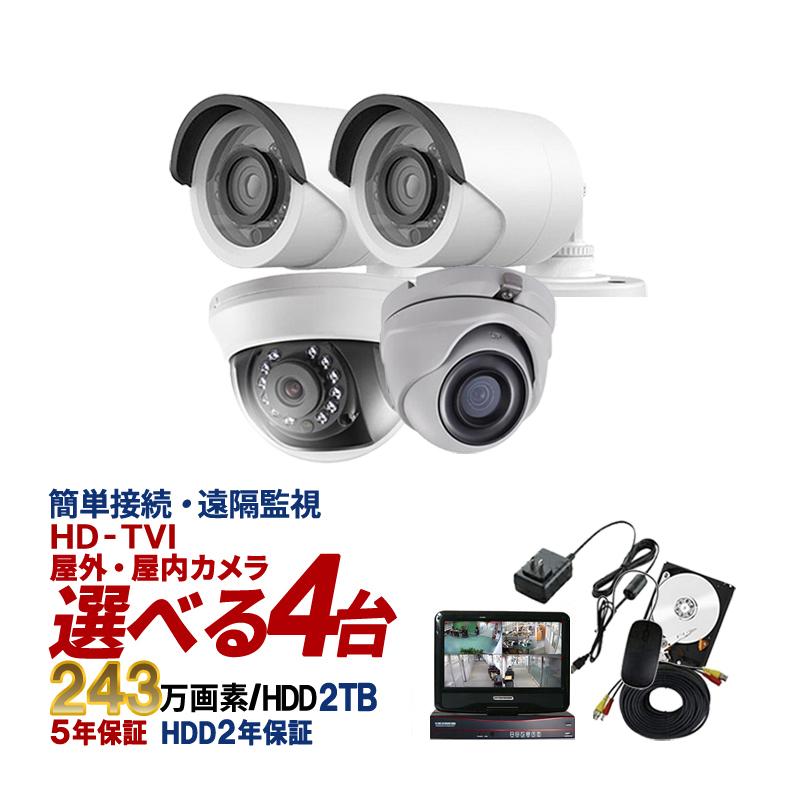 モニター一体型録画機カメラセット