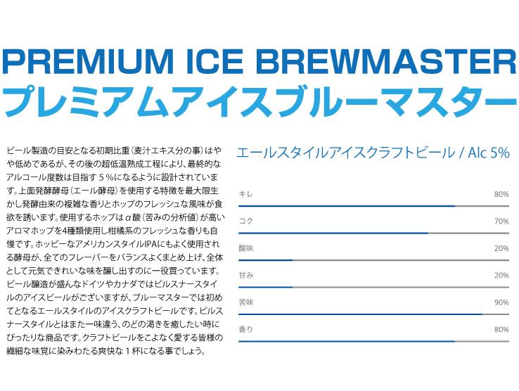 エールスタイルアイスクラフトビール / Alc 5%