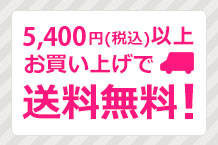 5400円以上ご購入で送料無料!