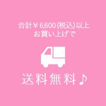 合計 ¥4,000(税込)お買い上げで送料無料♪