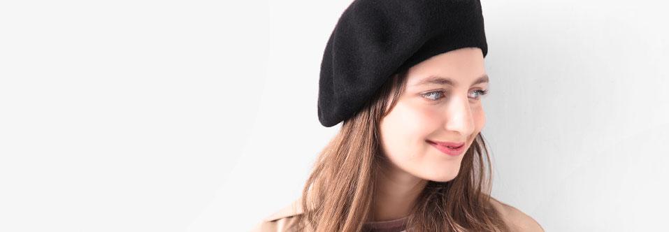 レディース ベレー 帽子