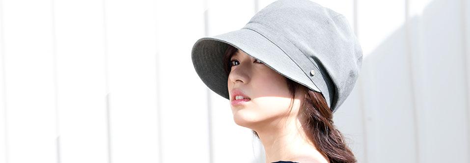 レディース キャスケット 帽子