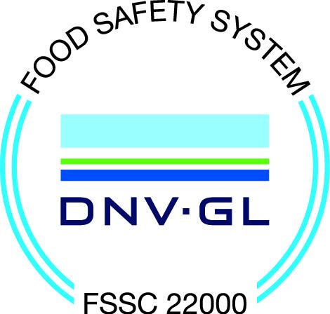 FSSC22000認証ロゴ DNV GL認証マーク