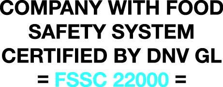 FSSC22000認証 DNV GL認証