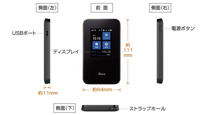 NEC 最強WIFIルーター AtermMR03LN