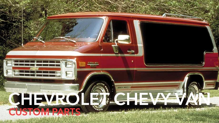 chevyvan custom parts