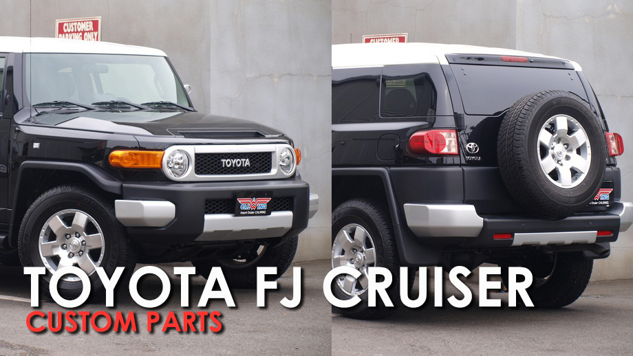 fj cruiser custom parts
