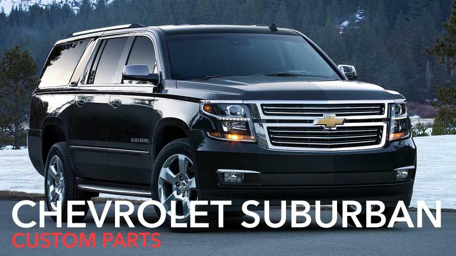 suburban custom parts