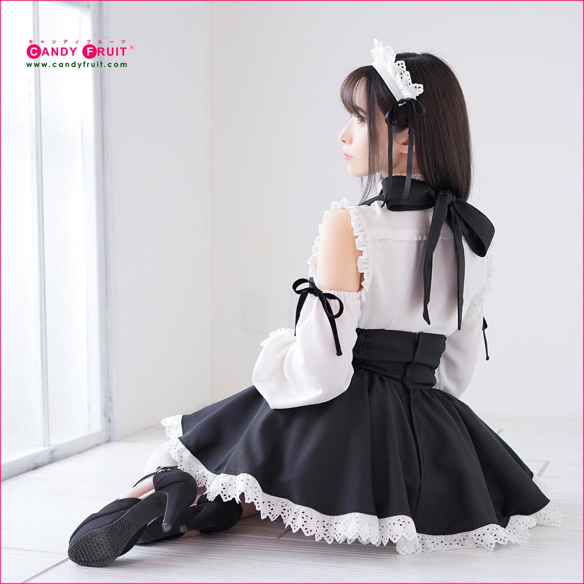 ニコレッタメイド服 ブラック