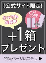 公式サイト限定 +1箱プレゼント