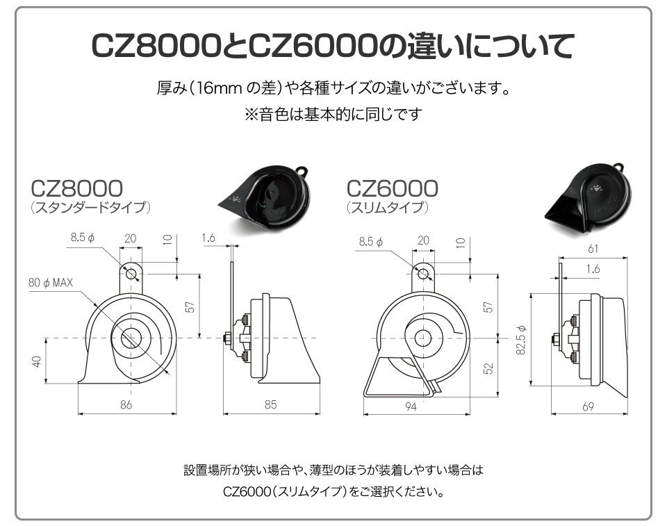 キャラッツホーン CZ6000