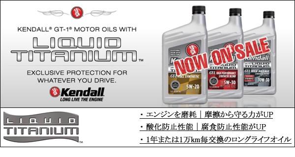 ケンドル エ  ンジンオイル (Kendall Motor Oil)