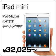 iPad mini iPadの魅力をそのまま手のひらの中に