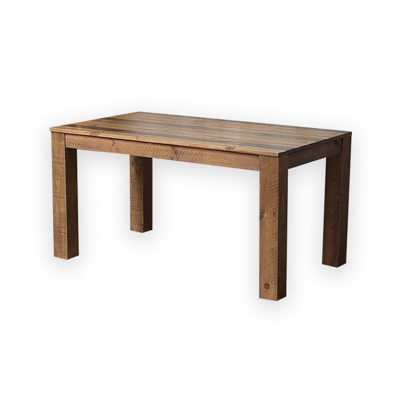 リサイクルパインウッド無垢材ローテーブル