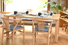 Nazare ダイニングテーブル W160