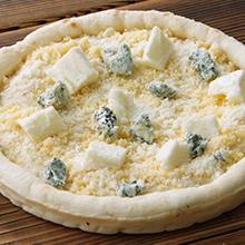 4種のチーズのピザ
