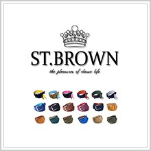 st.brown ブーツ