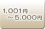 1,001円〜5.000円
