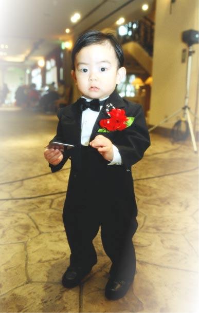 「結婚式での一枚です!!」