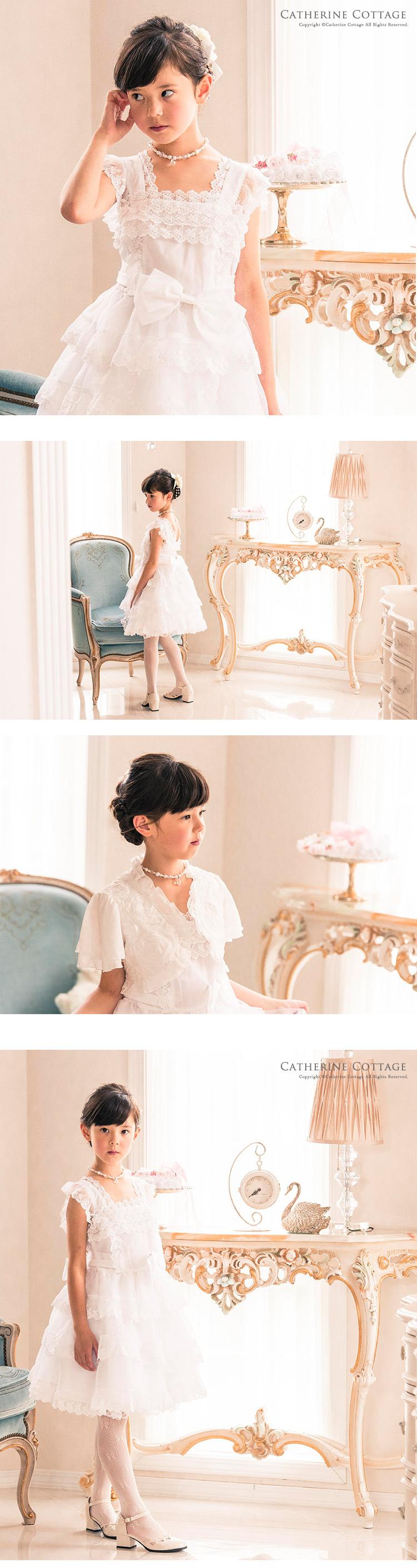 発表会ドレスを着た女の子