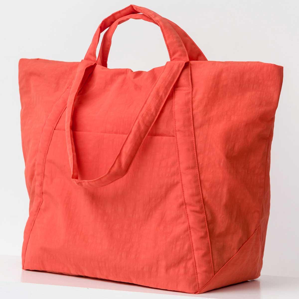 ボストンバッグ BAGGU TRAVEL CLOUD BAG L 旅行バッグ バグゥ トラベルバッグ クラウド Lサイズ ポピーレッド