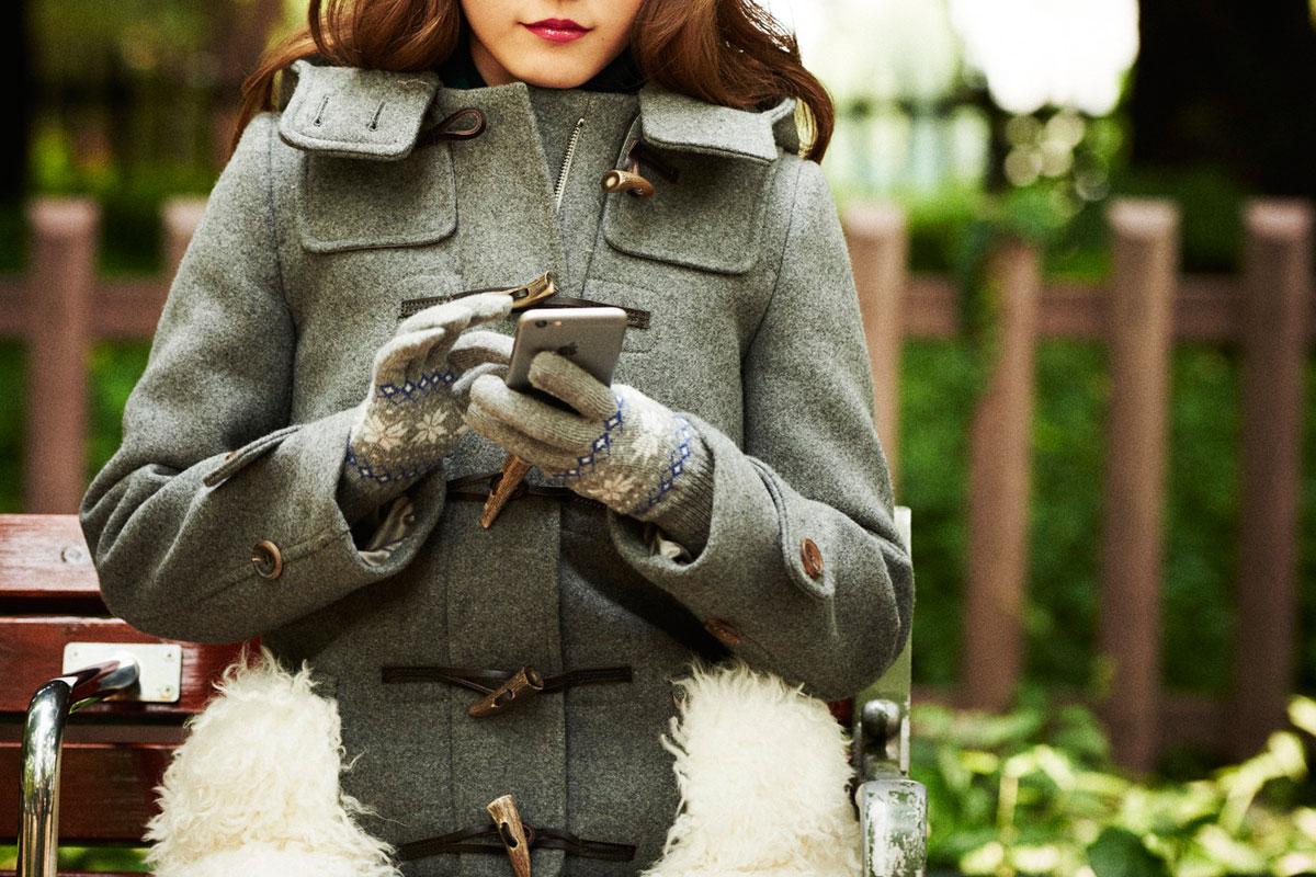 スマホ対応機能性手袋iTouch Gloves特集