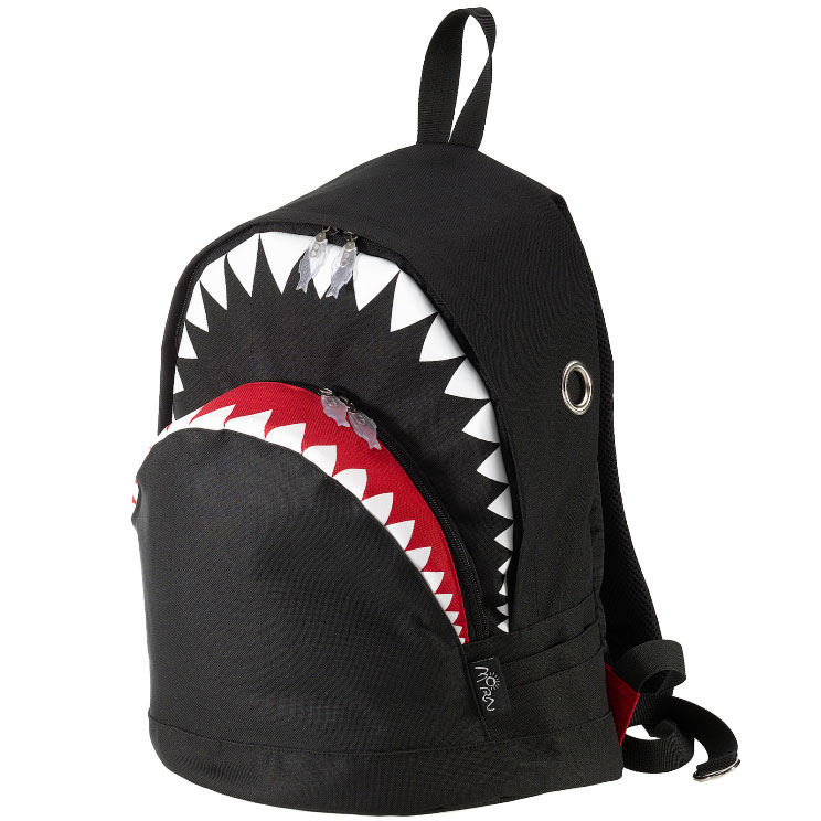 リュック MORN CREATIONS シャーク バックパック L ザック リュックサック モーンクリエイションズ リュック サメ Lサイズ ブラック