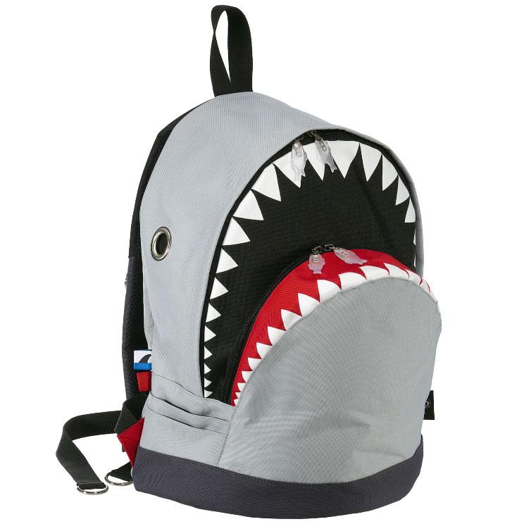 リュック MORN CREATIONS シャーク バックパック L ザック リュックサック モーンクリエイションズ リュック サメ Lサイズ グレー