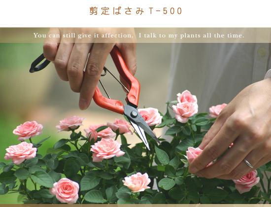 剪定ばさみT-500