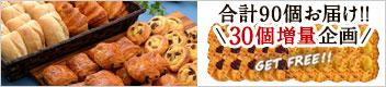 フランス産 冷凍パン 4種類60個セット