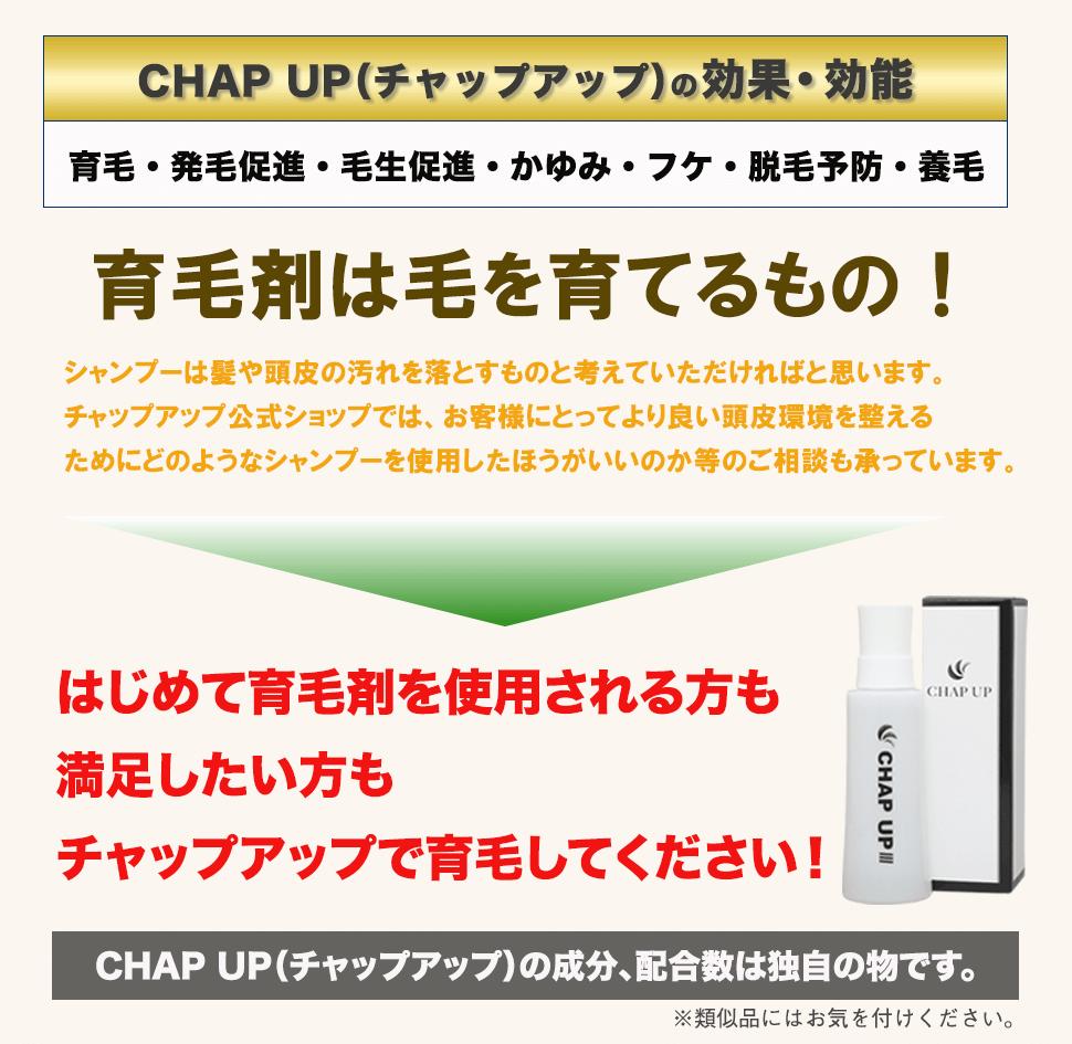 CHAPUP_効果・効能
