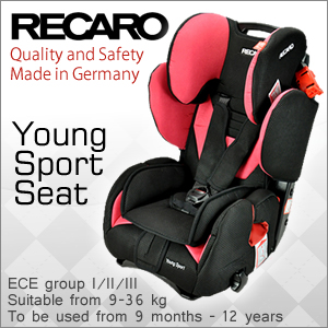 RECARO Young Sport Child Seat