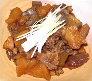 原様のレシピ「牛スジの煮物 」