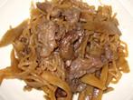 原様のレシピ「牛スジとごぼうの煮物 」