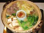 北野様のレシピ「牛肉と牛まめ(牛の腎臓)の水炊き」