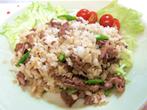 原様のレシピ「牛肉チャーハン」