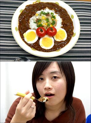 芳野様のレシピ「牛スジカレー」