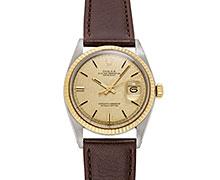 ロレックスデイトジャスト Ref.1601/3 コンビ SS/YG ゴールドモザイクダイアル 1971年 306番