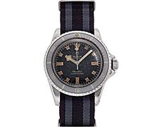 チューダー/チュードルオイスタープリンス サブマリーナ Ref.7016/0 スノーフレーク ブラックマットダイアル 1972年 Ser.814 ゴーストベゼル 未研磨
